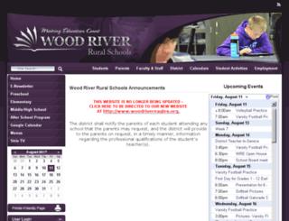 woodriver.k12.ne.us screenshot