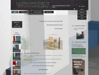 woodself.com screenshot