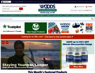 woodshealth.com screenshot