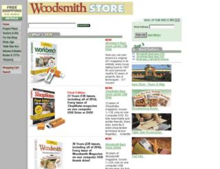 woodsmithstore.com screenshot