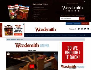 woodsmithtips.com screenshot