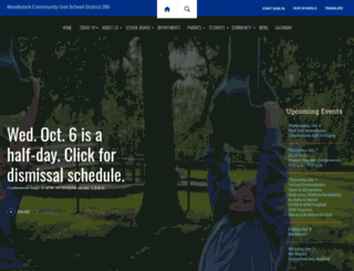 woodstockschools.org screenshot