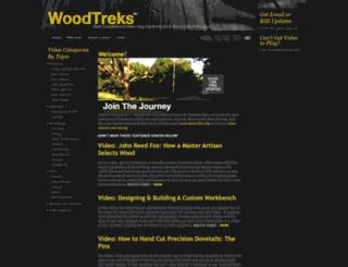 woodtreks.com screenshot