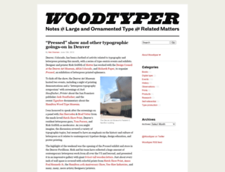woodtyper.com screenshot