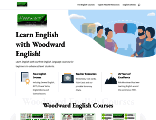 woodwardenglish.com screenshot