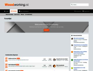 woodworking.nl screenshot