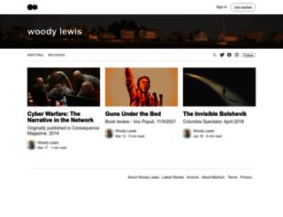 woodylewis.com screenshot