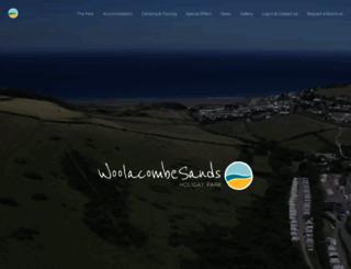 woolacombe-sands.co.uk screenshot