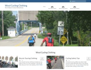 woolcycling.com screenshot