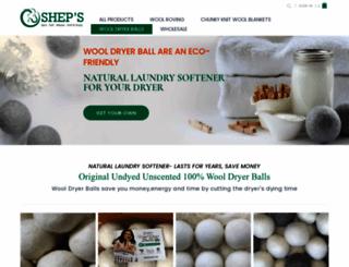 wooldryerballs.com screenshot