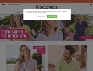 woolovers.de screenshot