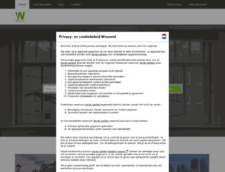 woonnet.nl screenshot