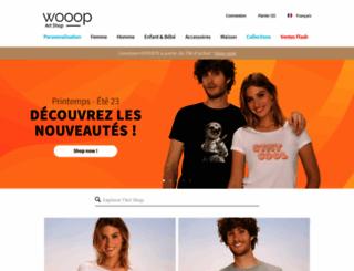 wooop.fr screenshot
