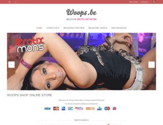 woops-shop.be screenshot