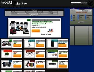 wootstalker.com screenshot