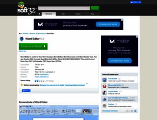 word-editor.soft32.com screenshot