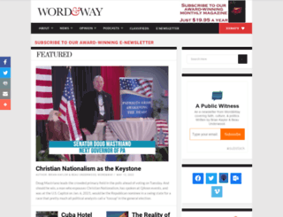 wordandway.org screenshot