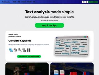 wordcruncher.com screenshot