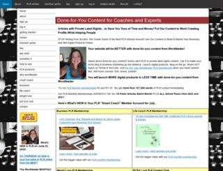 wordfeeder.com screenshot