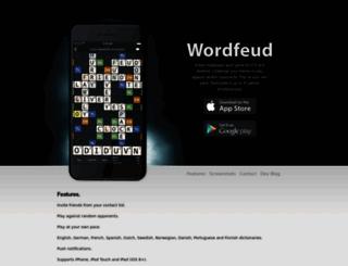 wordfeud.com screenshot