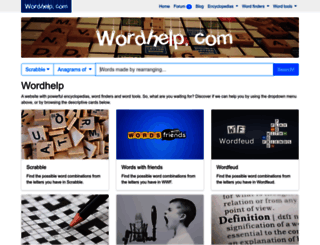 wordhelp.com screenshot