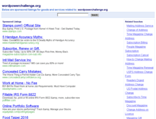 wordpowerchallenge.org screenshot