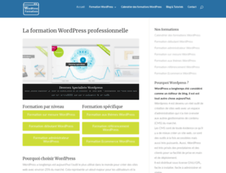 wordpress-formations.fr screenshot