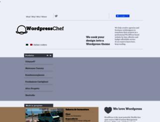 wordpresschef.it screenshot