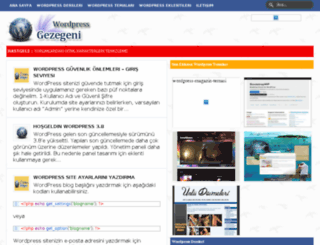 wordpressgezegeni.com screenshot