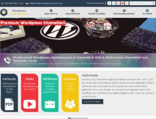 wordpressoptimizasyon.com screenshot