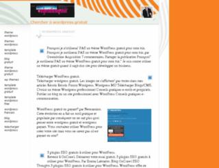 wordpressthemegratuit.com screenshot
