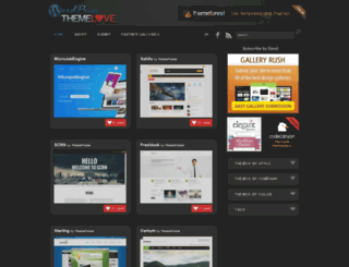 wordpressthemelove.com screenshot