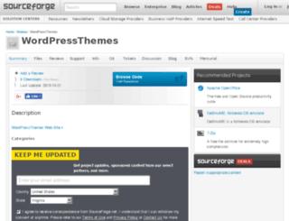 wordpressthemes.sourceforge.net screenshot