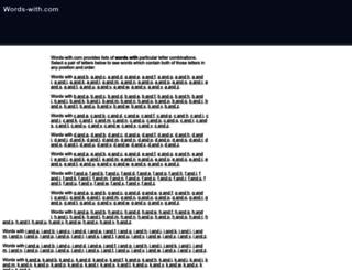 words-with.com screenshot