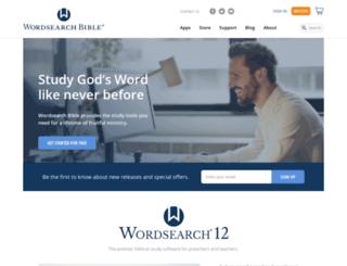 wordsearchbible.com screenshot
