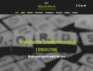 wordswork.in screenshot