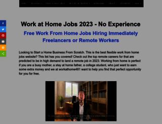 workathome481.com screenshot
