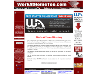 workathometoo.com screenshot