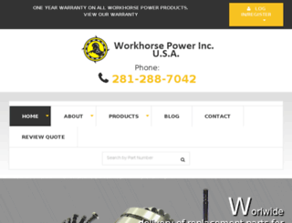 workhorsepower.com screenshot