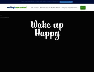 workingin-newzealand.com screenshot