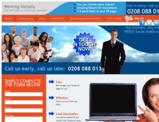 workingsocially.co.uk screenshot