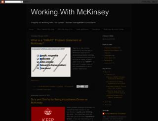 workingwithmckinsey.blogspot.de screenshot