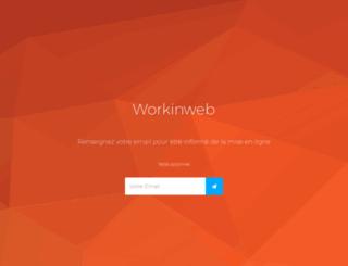 workinweb.fr screenshot