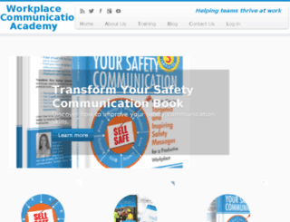 workplacecommunicationacademy.com screenshot