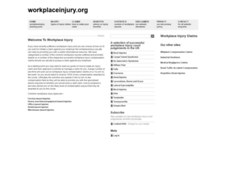 workplaceinjury.org screenshot