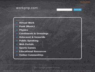 workpnp.com screenshot