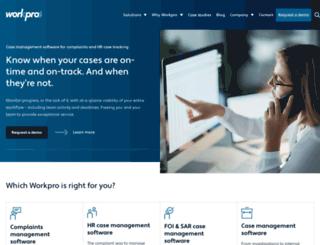 workpro.com screenshot