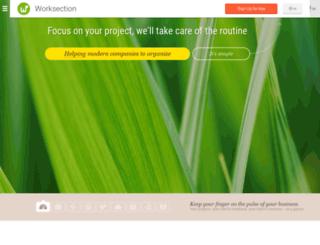 worksection.com.ua screenshot