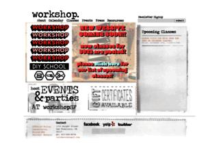 workshopsf.org screenshot