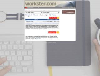 workster.com screenshot